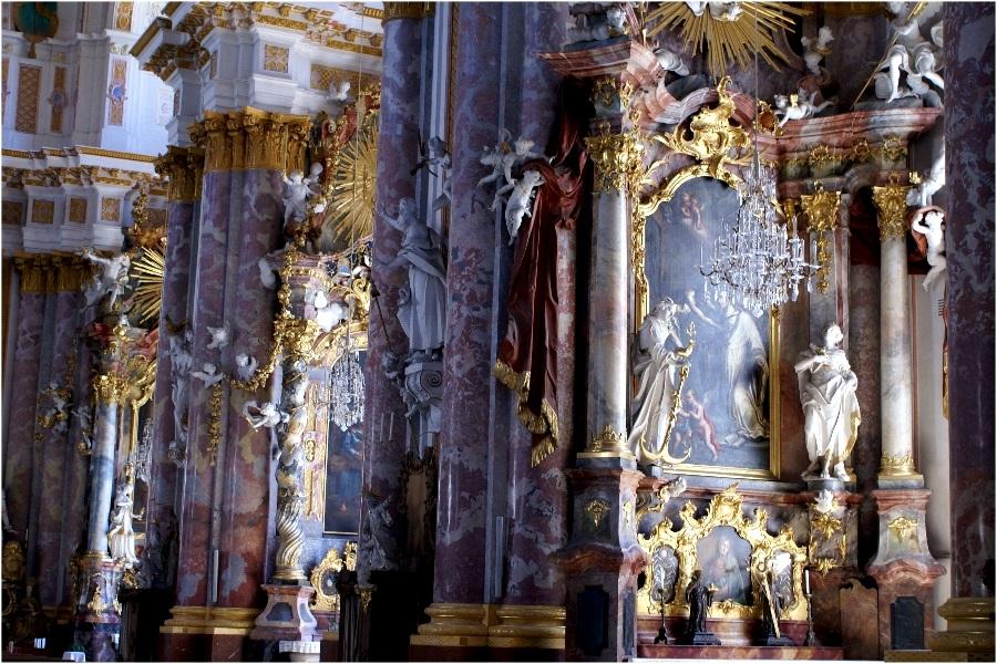Seitenaltar, Klosterkirche Fürstenfeld, Fürstenfeldbruck