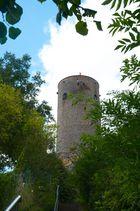 Seitenansicht der Burg Münzenberg