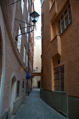 Seitengasse in Salzburg