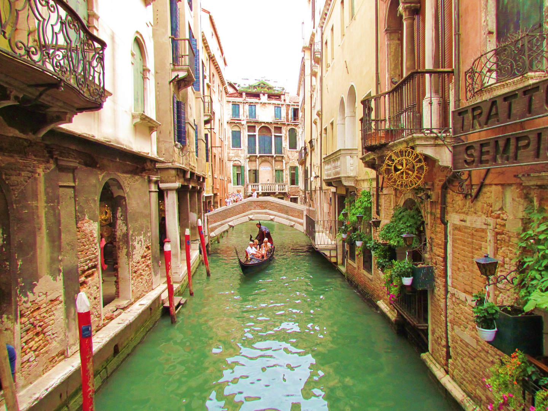 Seitengassen von Venedig