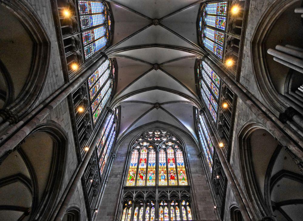 Seitenkapelle des Kölner Doms