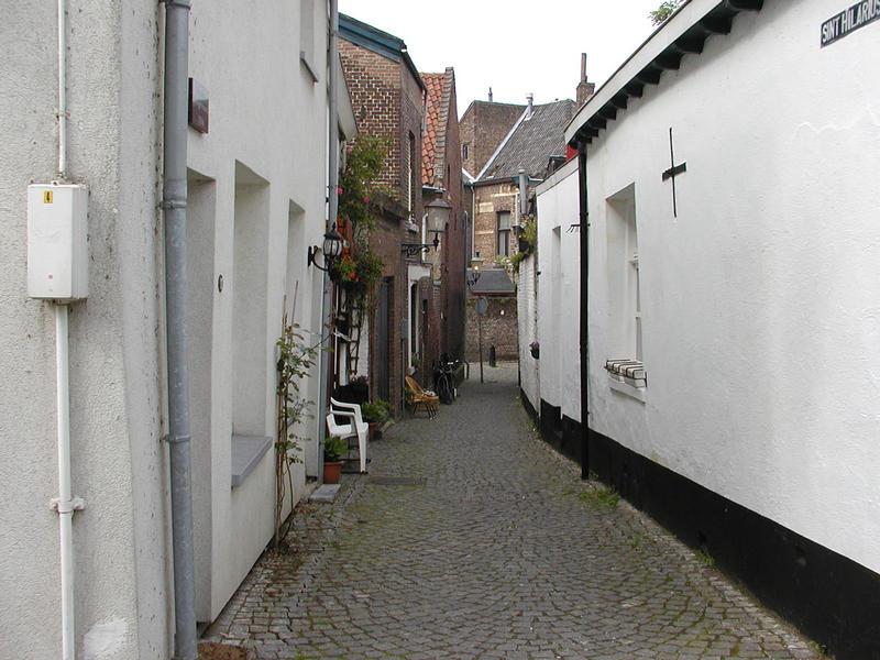 Seitenstraße in Maastricht