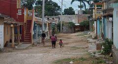 Seitenstrasse Trinidad