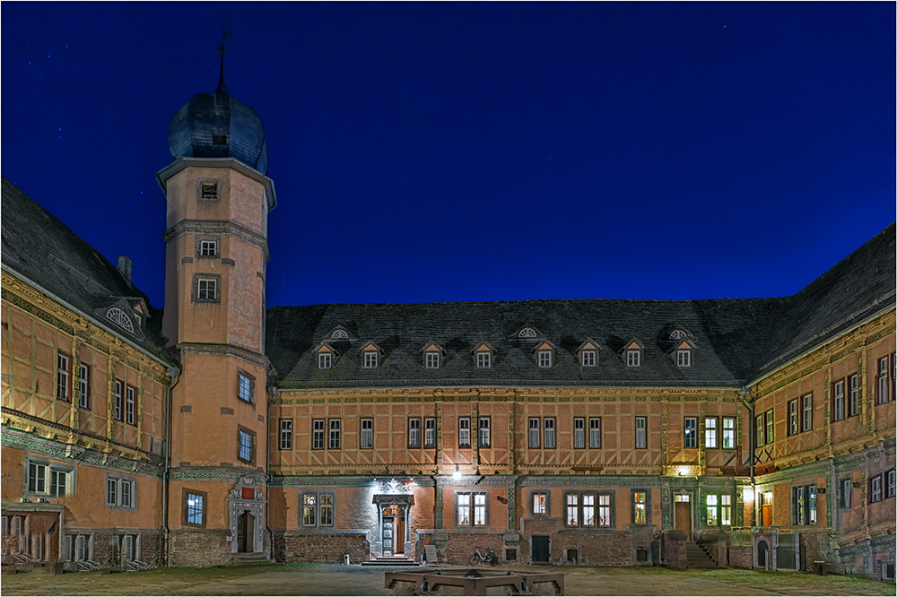 Seitenwechsel im Schloss Bevern