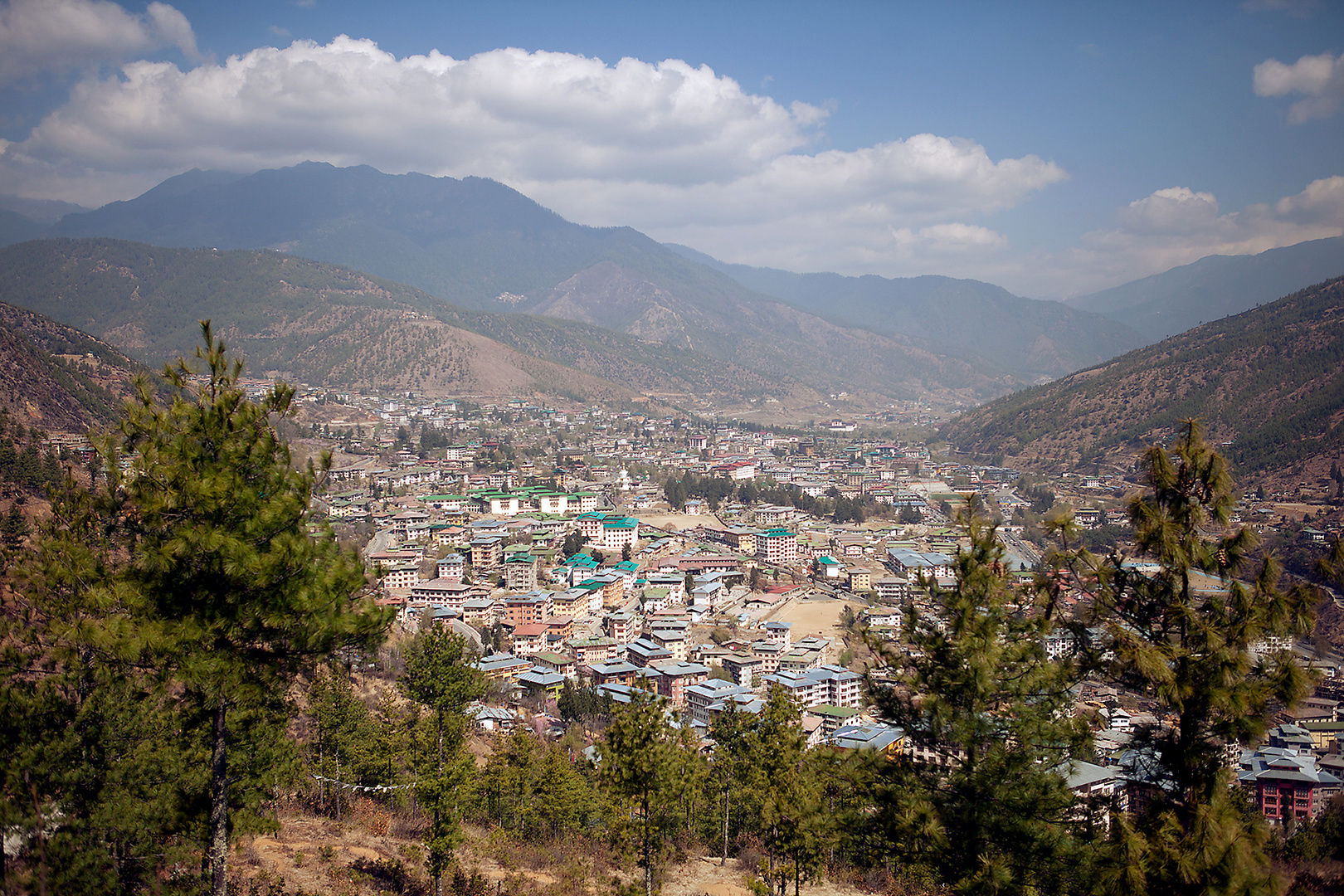Selbst Gott kann nicht zwei Berge ohne ein Tal dazwischen machen. © Gälisches Sprichwort
