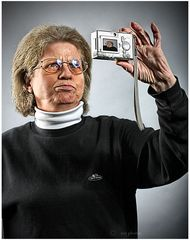 Selbst ist die Kamerafrau