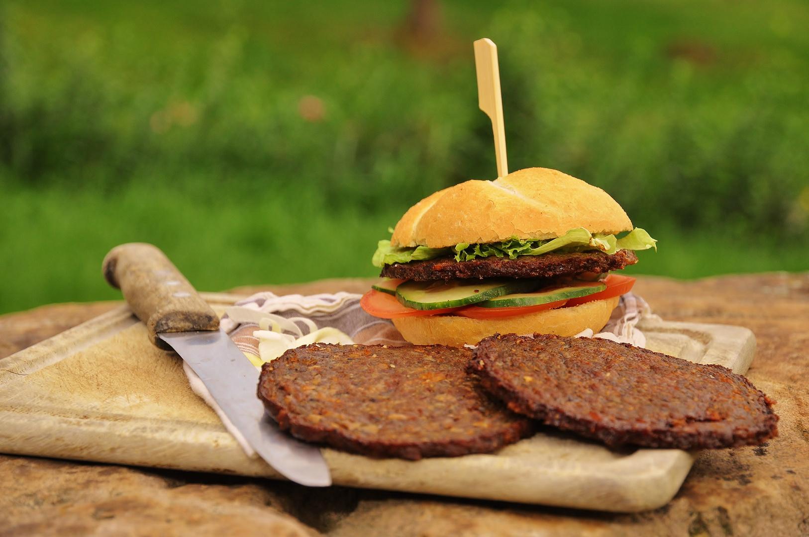 selbstgemachter Burger