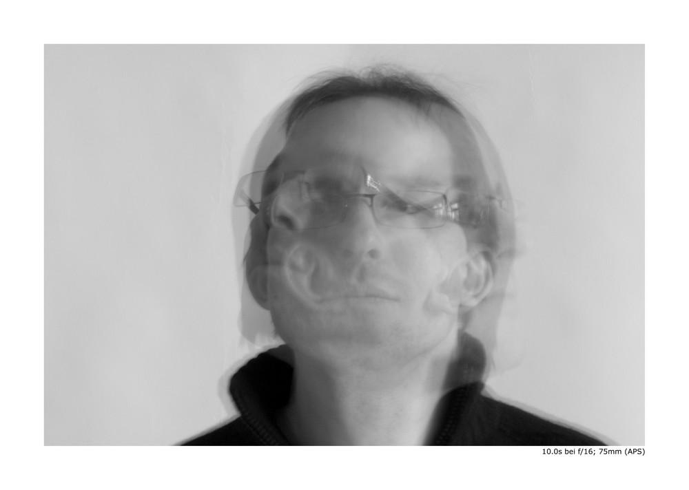Selbstportrait (10 Sek.)