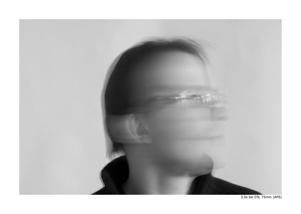 Selbstportrait (3 Sek.)