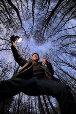 Selbstportrait im Wald