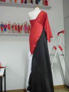 Selbtentworfenes Kleid
