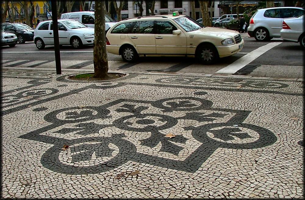 Selciato portoghese.