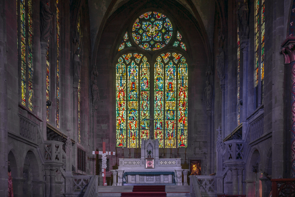 Sélestat, Kirche St. Georg