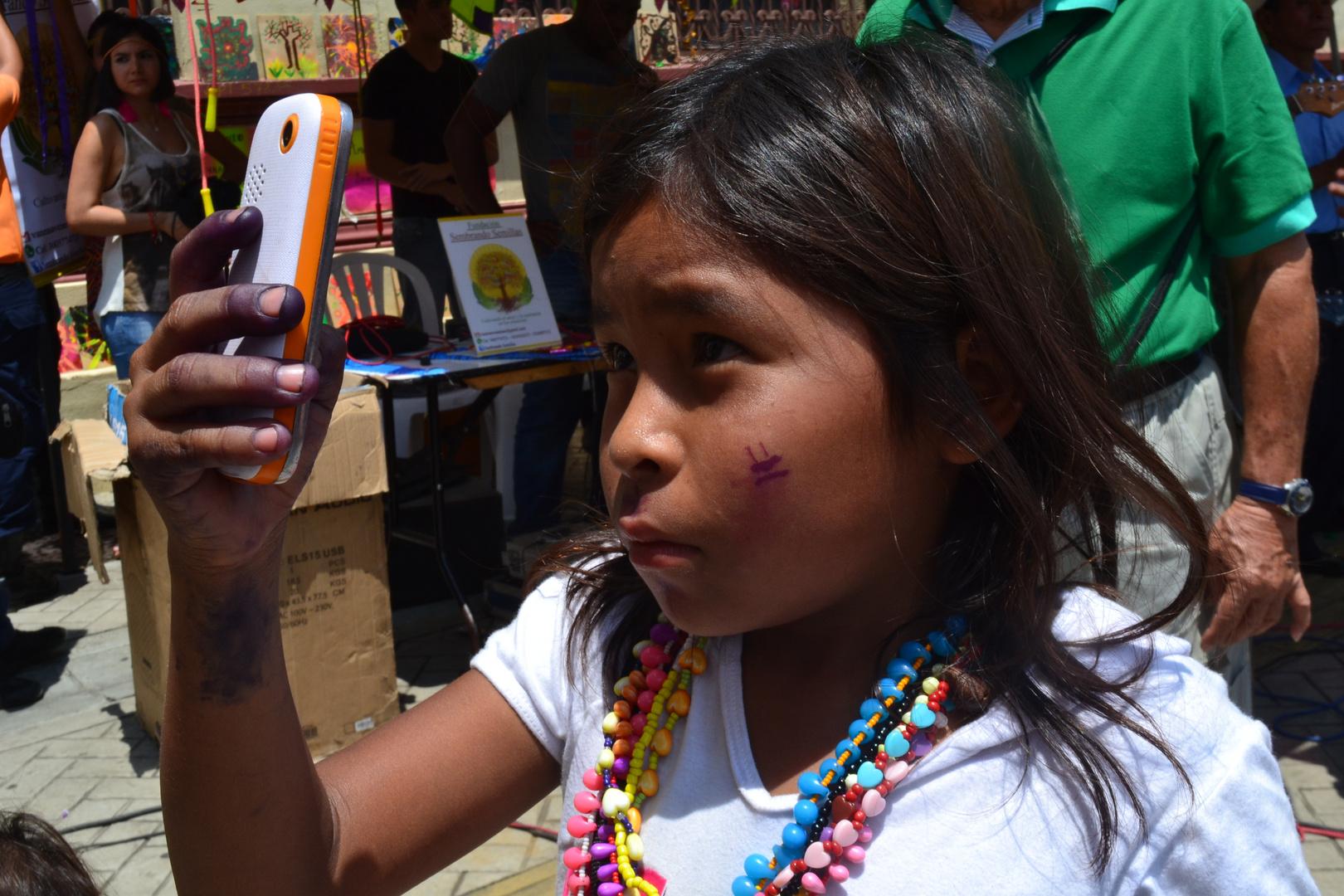 selfie indigena