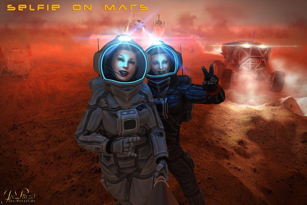Selfie on Mars