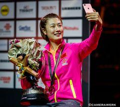 Selfie von der Weltmeisterin