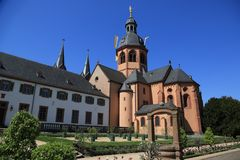 Seligenstadt Klostergarten der ehemaligen Benediktinerabtei