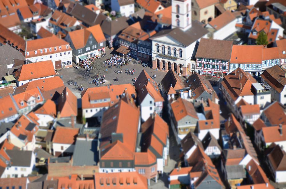 Seligenstadt Marktplatz