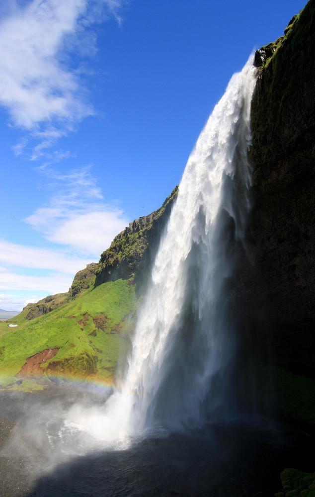 Seljalandsfoss auf Island 2