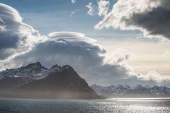 Seltsame Wolken