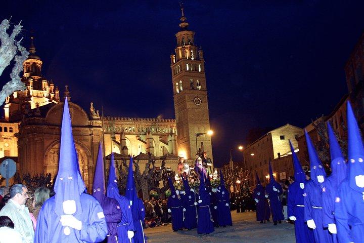 Arte Y Cultura Sevilla Motivos: Semana Santa En Tarazona (Zaragoza) Imagen & Foto