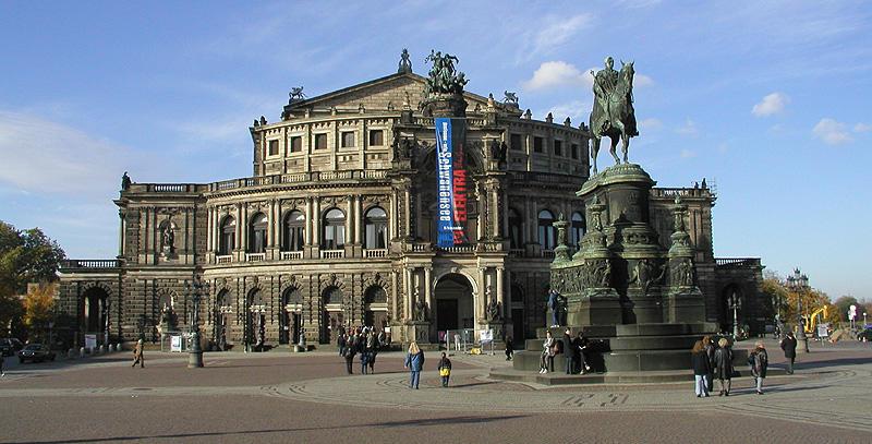 Semper Oper in Dresden
