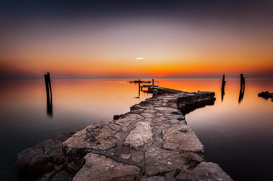 Semplicemente tramonto foto immagini paesaggi for Disegni di laghi