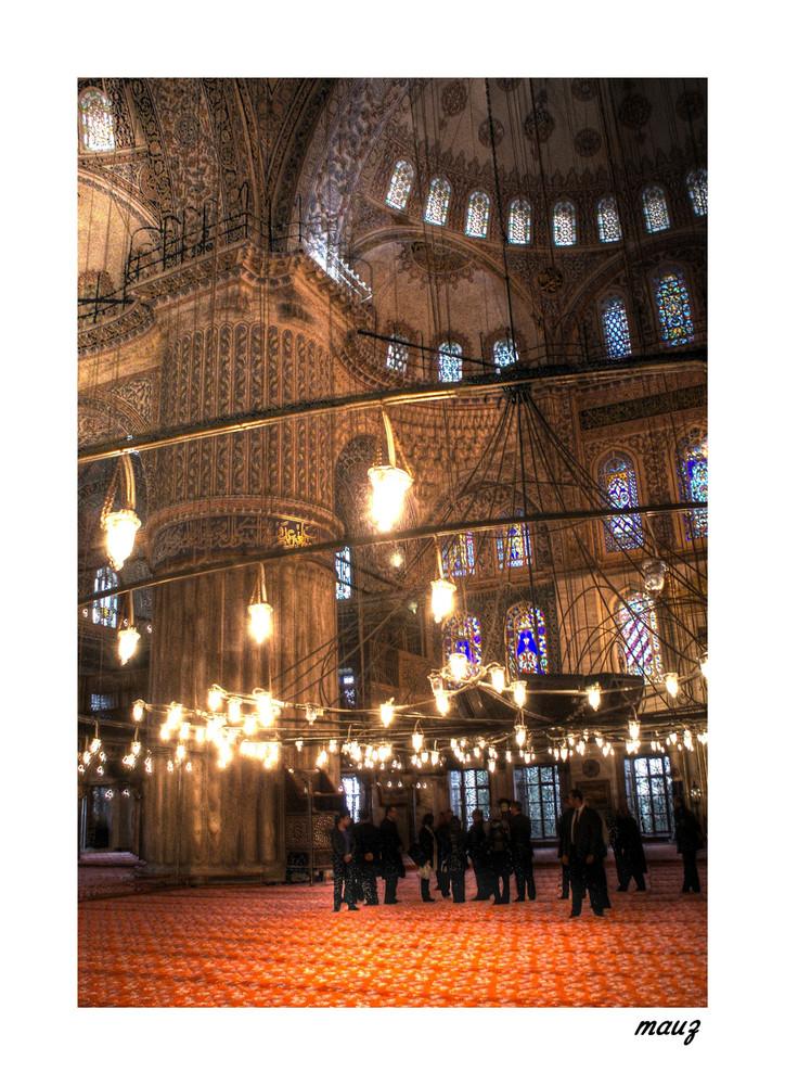 ... Sempre la Moschea Blu...