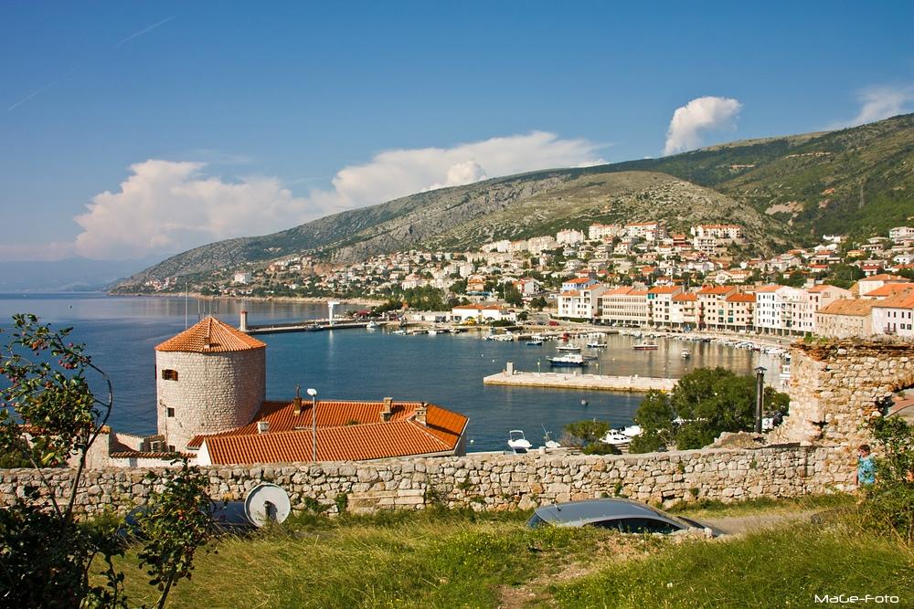 Senj - Blick auf den Hafen