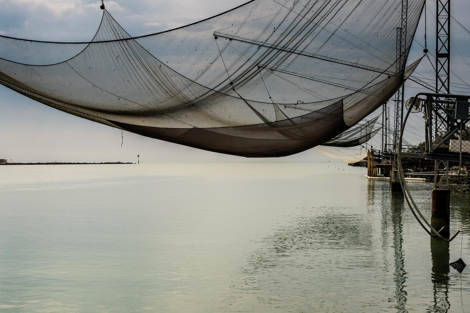 Senknetzfischerei am Fiume Piave 4