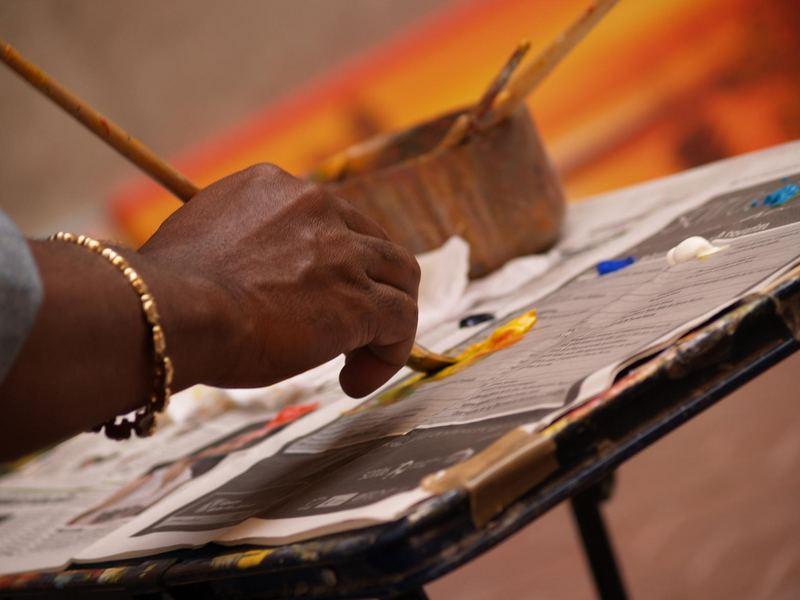 sensaciones de un pintor