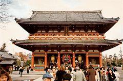 Sensoji-Tempel in Tokyo