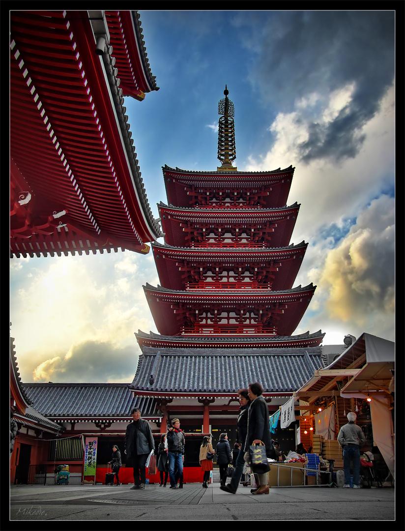 Sensou-Ji in Asakusa Tokyo
