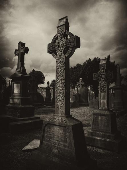 Sepia Crosses (Glasnevin)