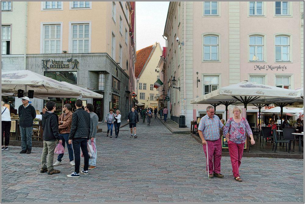 Septemberabend in Tallinn...