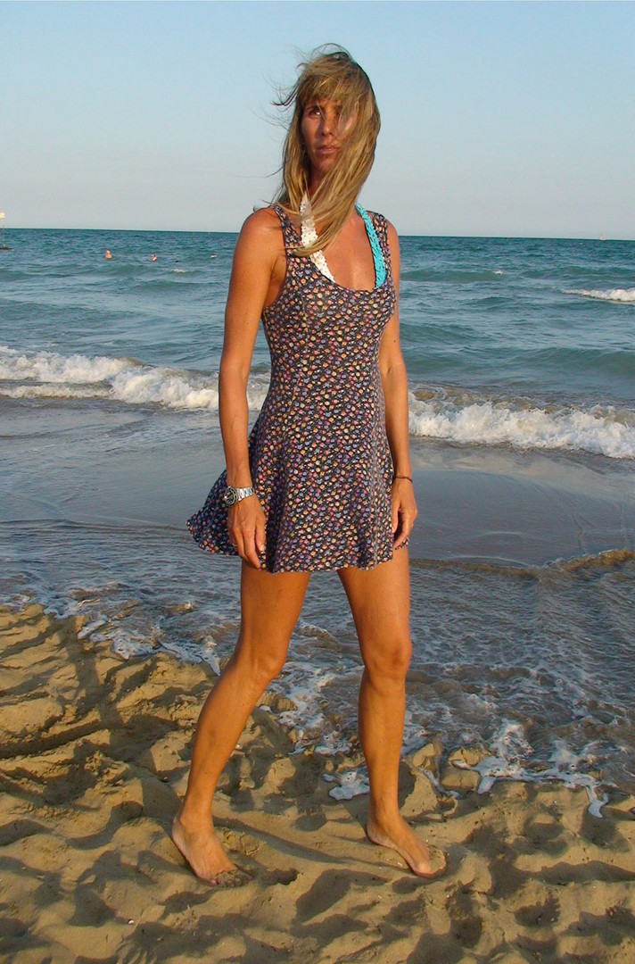 Sera, sabbia e vento
