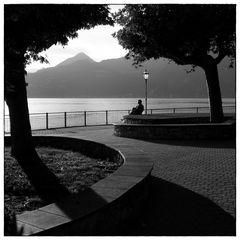 Sera sul lago di Como