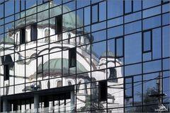 Serbie - Belgrade - Cathédrale St-Sava