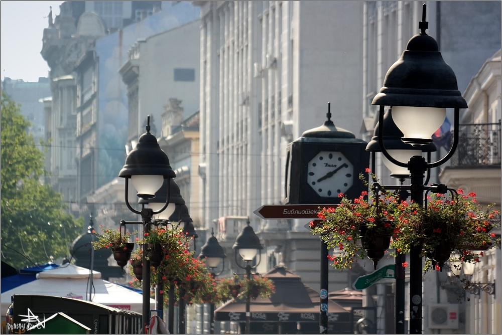 Serbie - Belgrade - Rue Piétonne