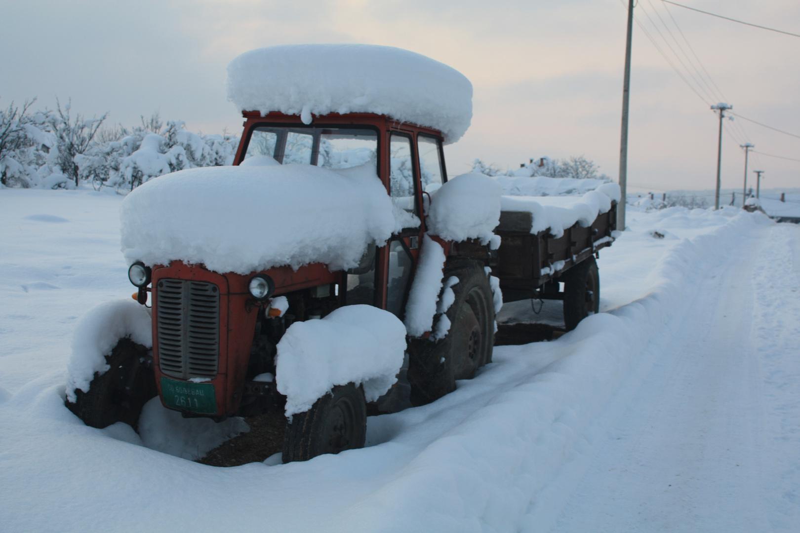 Serbien im tiefen Winter(2)