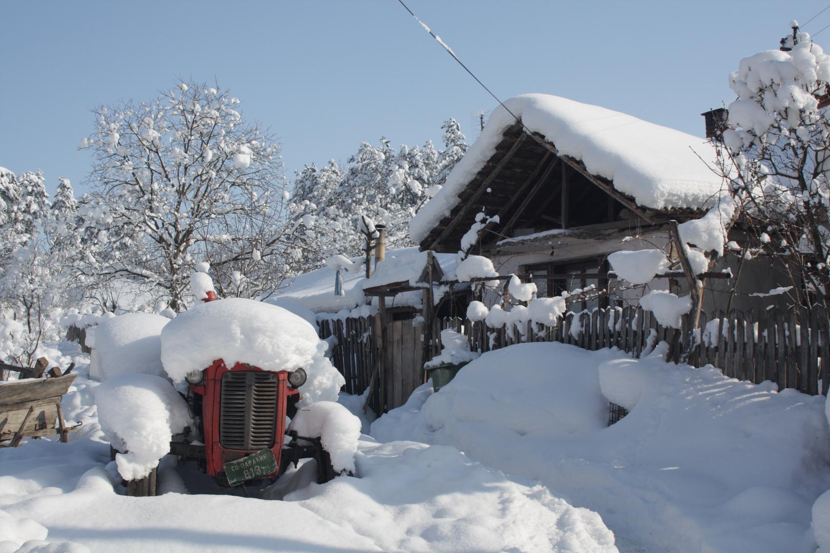 Serbien im tiefen Winter(3)