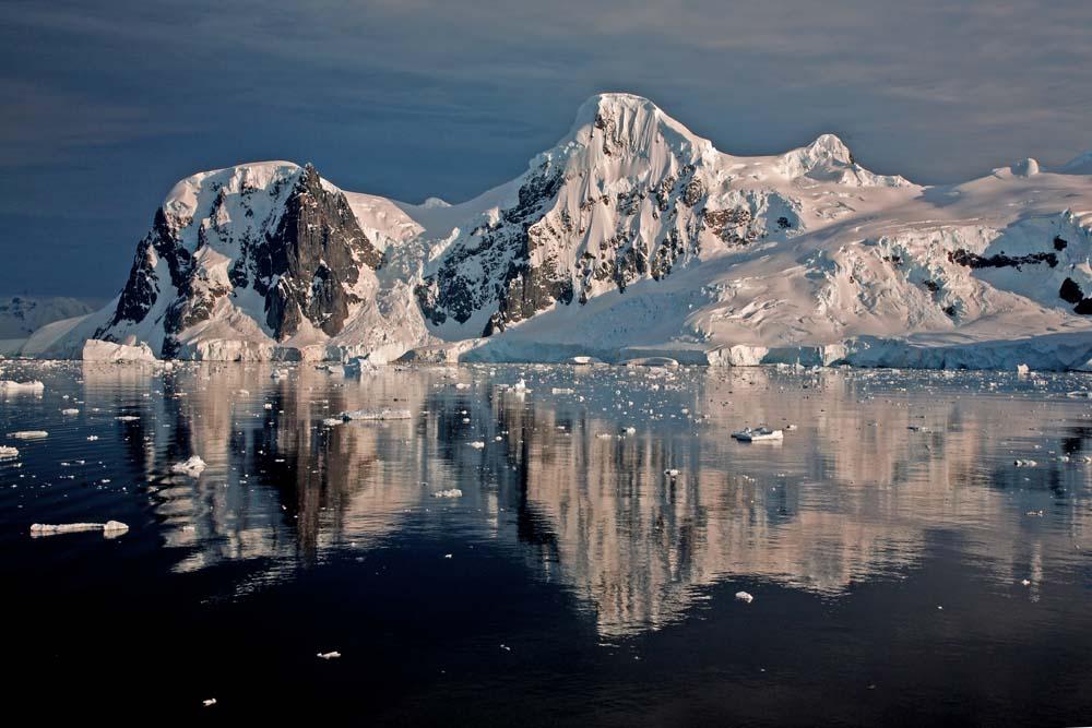 Sérénité antarctique. Pris depuis Le Diamant.