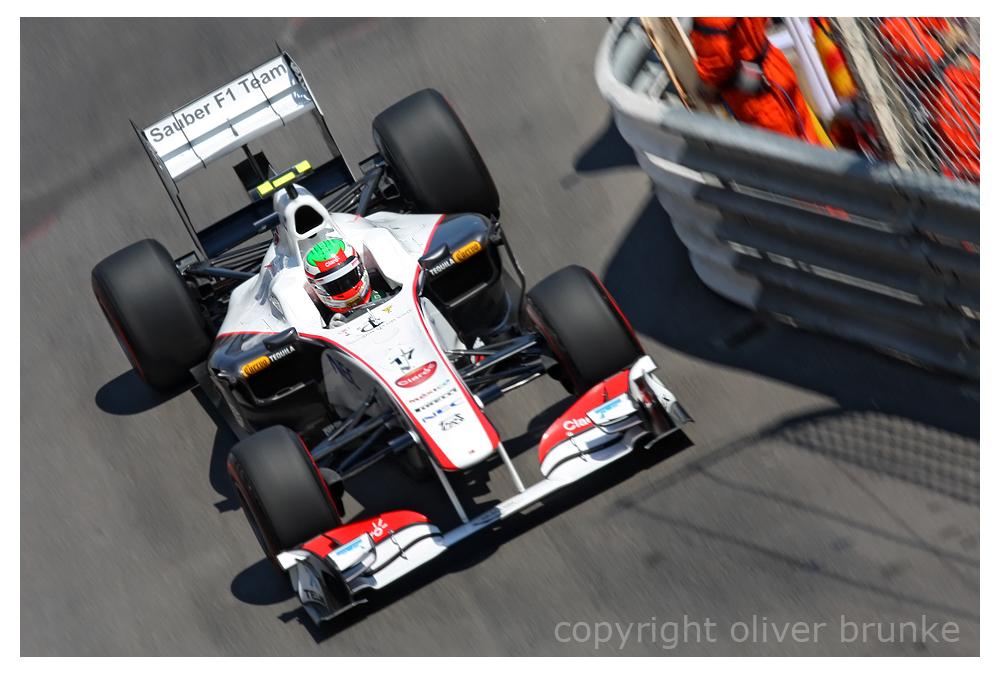 Sergio Perez, Monaco 2011