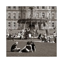 """Serie """"Around the World"""" - 2 - Stuttgart Schwäbischer Rasen"""