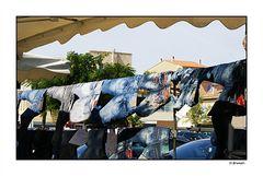 Série étalage sur un marché (4)