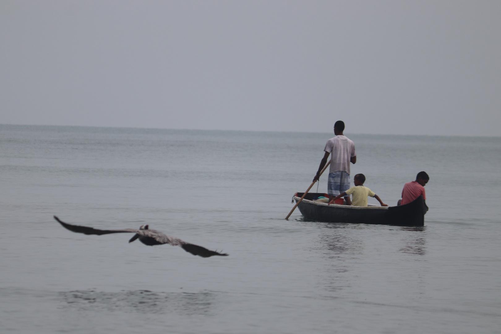 Serie, sobrevivencia, trabajadores de la mar 11