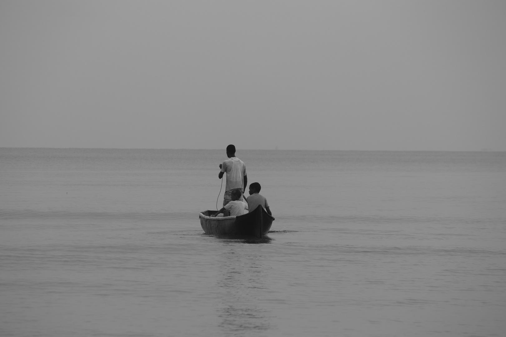 Serie, sobrevivencia, trabajadores de la mar 9