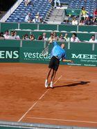 service of a Dutch tennisser