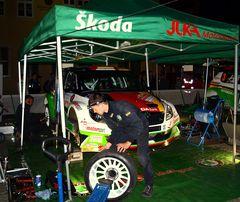 Servicezeit bei Skoda