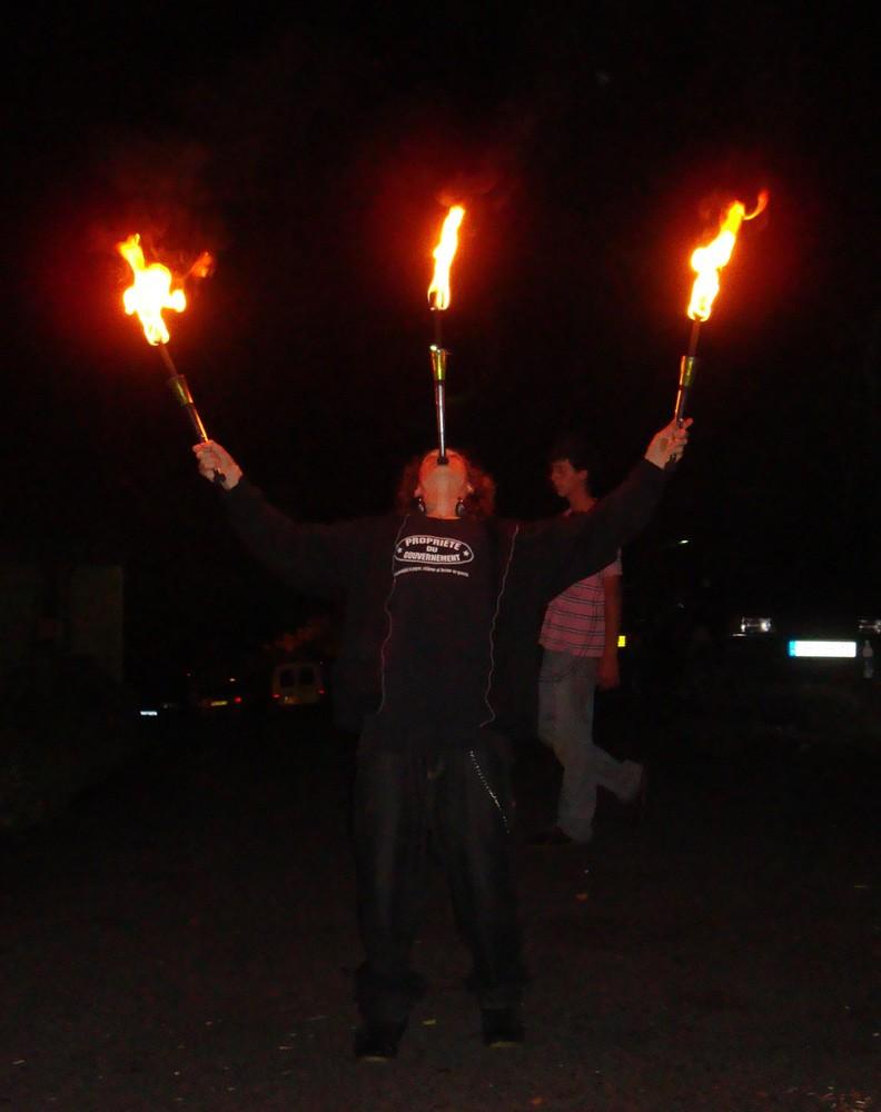Session feu